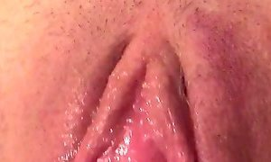 Pumped pussy sopping wet pussy after pump
