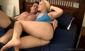 ass lovers, blonde, blowjob, busty, couple