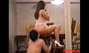 Asian Mistress and Slave Service step mom anal