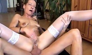 anal, german moms, hardly fucked