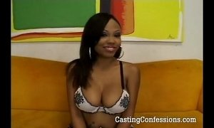 24 Year Old Lacey Is Casted For Sex Scene