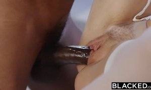 blonde, blowjob, cock, group, interracial