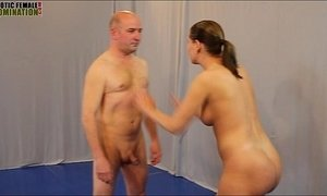 Mixed wrestling Sex Figh