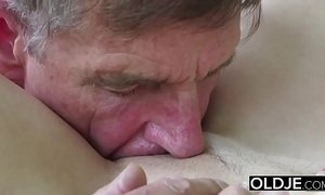 blowjob, cumshot, deepthroat, grandpa, hardcore, old n young