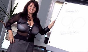 Sexy MILF Shows Her Big Soft Boobs