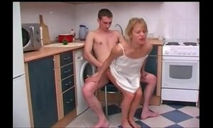kitchen, son and mommy, stepmother