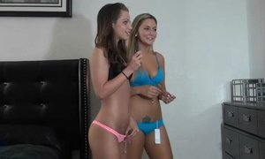 Score with two very hot babes